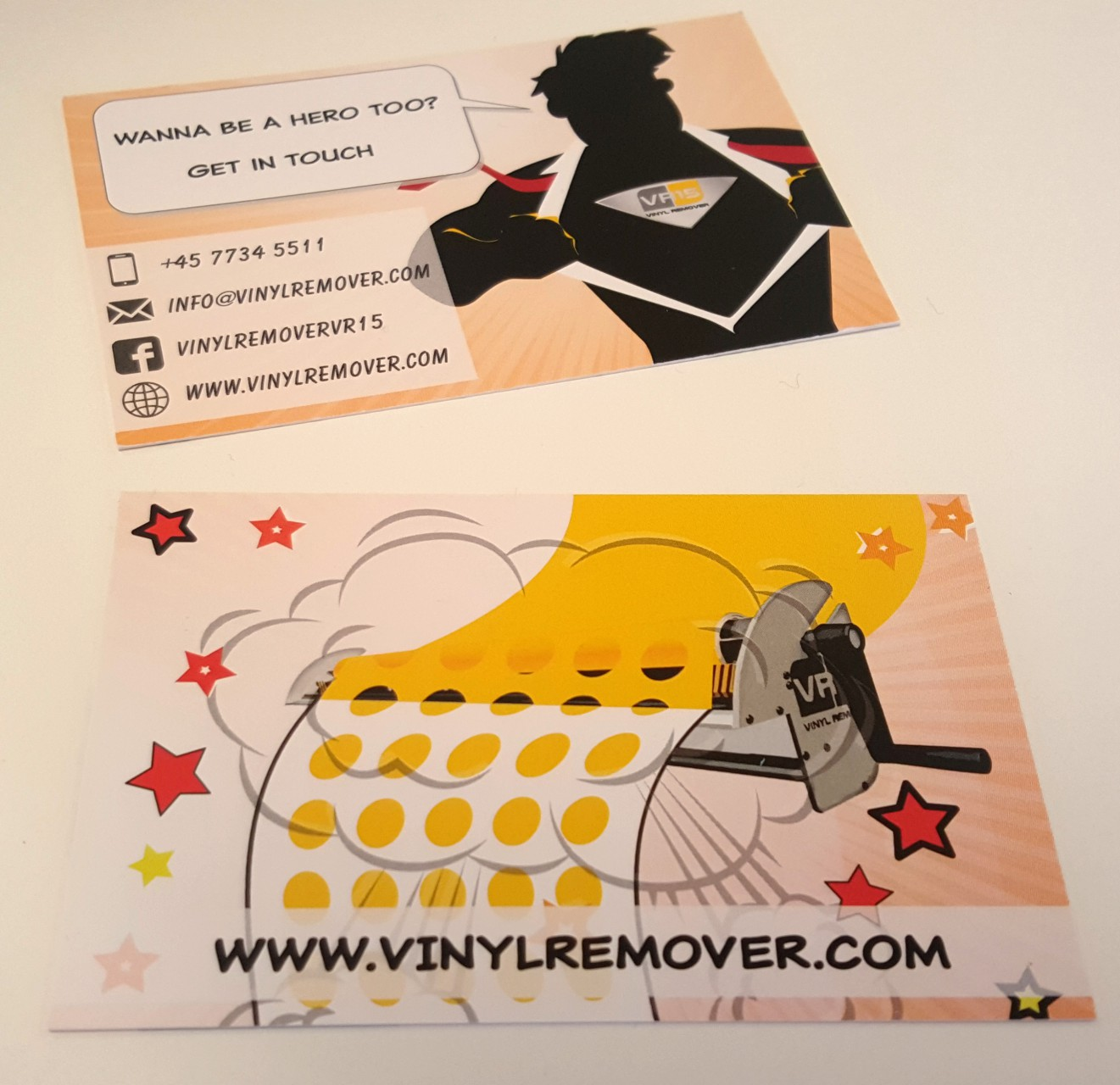 Getting ready for fespa 2016 - Vinyl Remover VR15